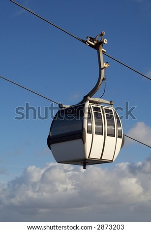 Cablecar - stock photo