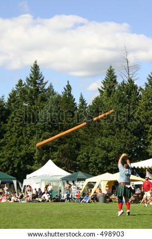 Cabre Toss, Highland Games Portland Oregon