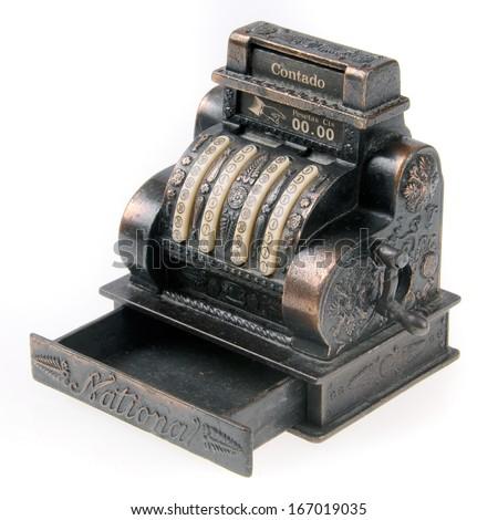 Cache machine. - stock photo