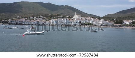 Cadaques, a small coastal town, is the village of the Catalan painter Salvador Dali. The Church of Cadaques is a symbol in the village.  Costa Brava, Spain