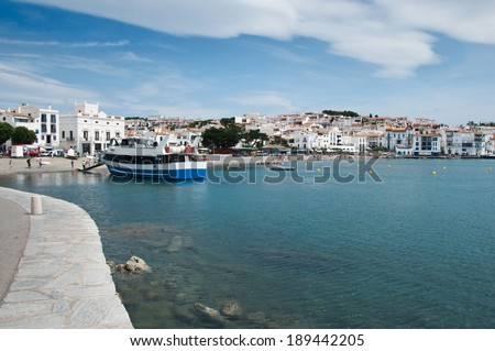 Cadaques Costa brava Spain - stock photo