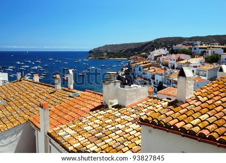 Cadaques, Costa brava, spain - stock photo