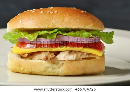 caesar chicken sandwich bun