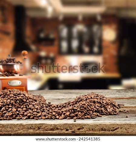 cafe and coffee  - stock photo