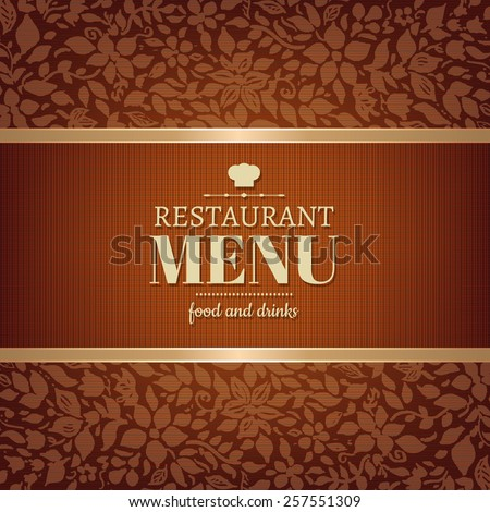 Cafe And Restaurant Menu  - stock photo