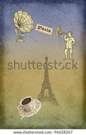 Cafe set - stock photo