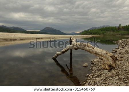 Cairngorm National Park, Grampians, Scotland, UK - stock photo
