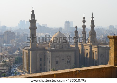 Cairo, Egypt - City view from the Citadel