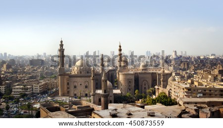 Cairo skyline, Egypt - stock photo