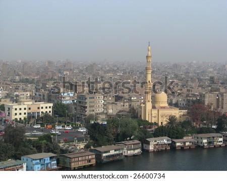 Cairo view - stock photo