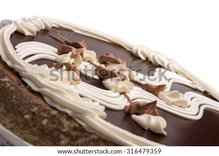 Cake for a loved one - stock photo