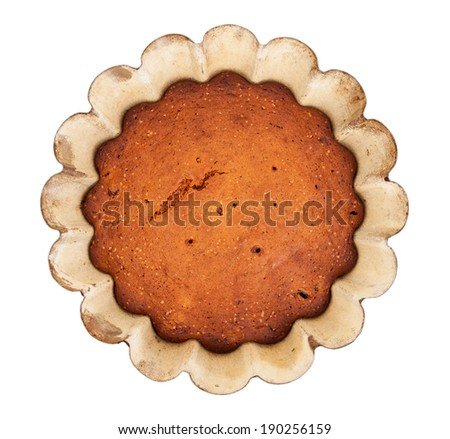 Cake in the form  - stock photo