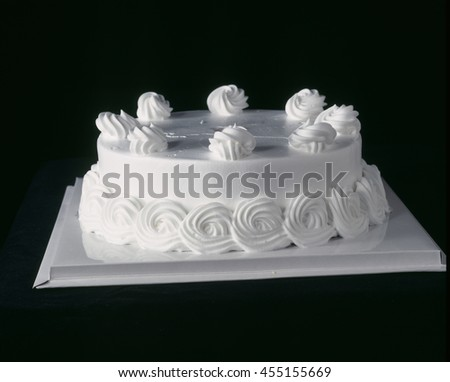Cake isolated on a background