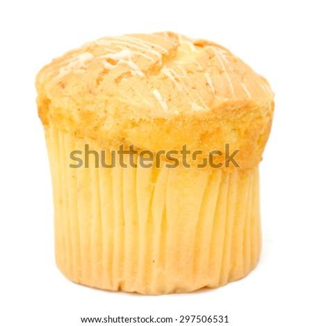 cake on white background - stock photo