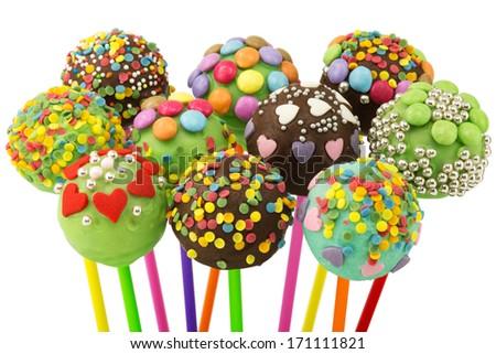 Cake Pop - stock photo
