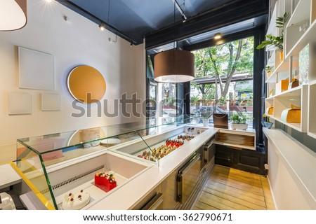 Cake Shop Interior Stock Photo 362790671 Shutterstock