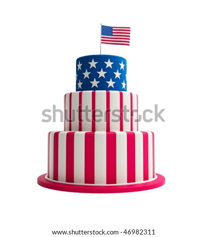Cake Art Usa : Sweet american flag Stock Photos, Images, & Pictures ...