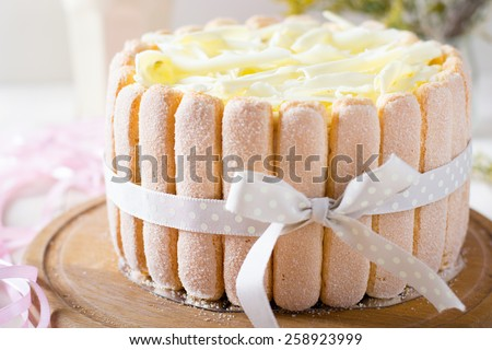 Ladyfinger cake Stock Photos, Images, & Pictures | Shutterstock