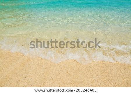 Cala Biriola on a clear day, Sardinia - stock photo