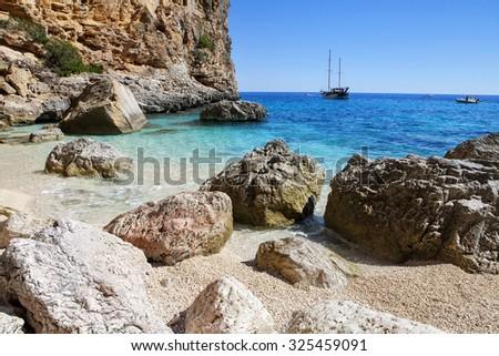 Cala Biriola, Sardinia, Italy - stock photo