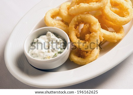 calamari - stock photo