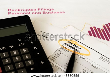 calculating tax and managing finance