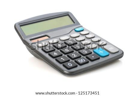 Calculator. - stock photo