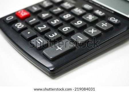calculator  - stock photo