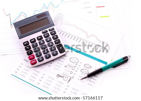 Calculator and some financial charts