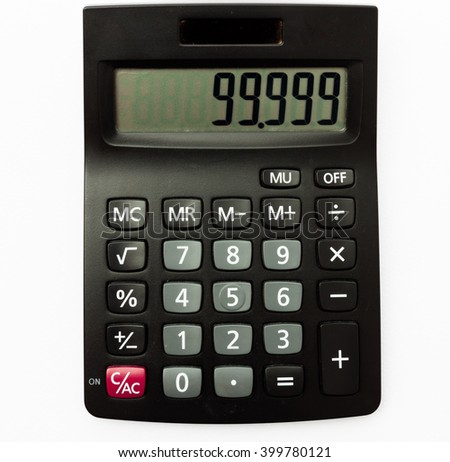 Calculator for result for nighty-nine point nine percent, achieved target
