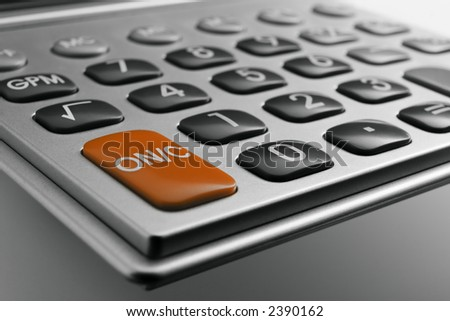 Calculator Keypad - stock photo