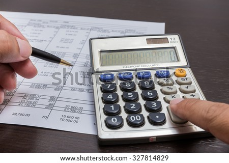 calculator on expenses