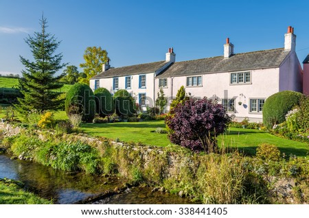 Caldbeck Village, Cumbria, England - stock photo