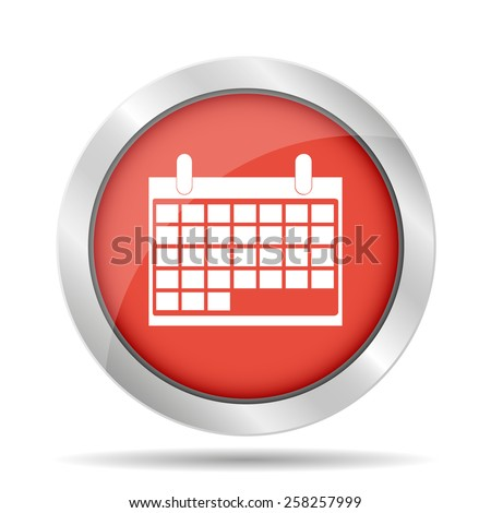 calendar -  icon.  - stock photo