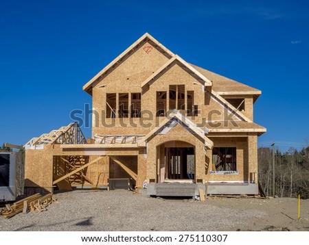 CALGARY CANADA APRIL 26 Suburban Estate Stock Photo (Safe to Use ...