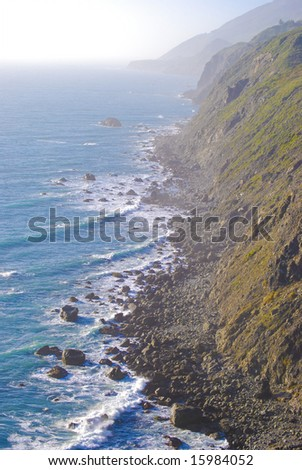 California Coast - stock photo