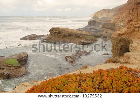 California coast; Cabrillo National Monument; San Diego, California