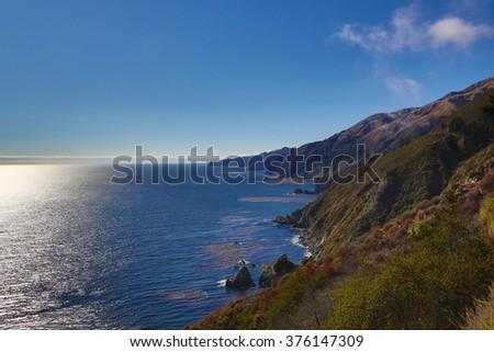 California northern coast - stock photo