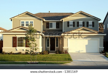 California real estate. - stock photo