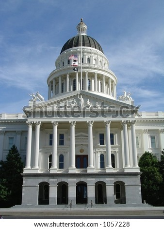California State Capital Dome View