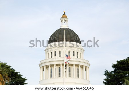 California State Capitol building - stock photo