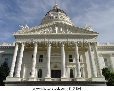 California State Capitol (image contains some noise)