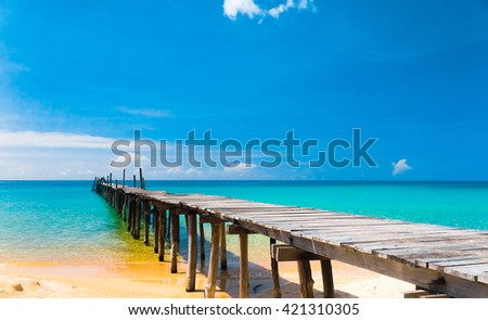 Calm Meditation Path filled with Love  - stock photo