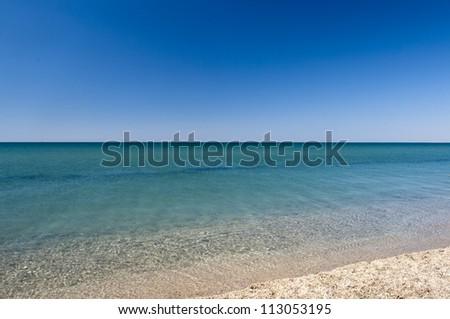 Calm sea - stock photo