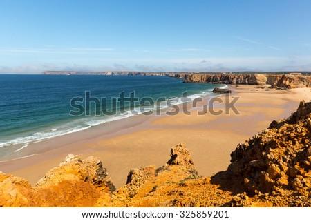 Calm tropical seaside - stock photo