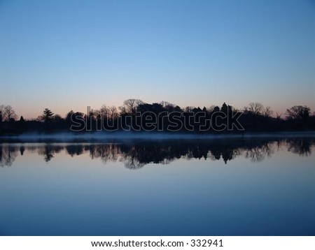 Calm water during sunrise