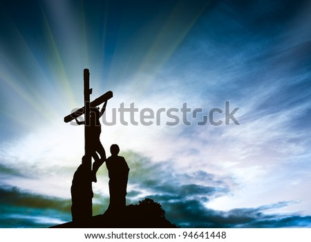 Calvary - stock photo
