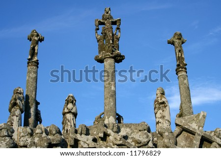 Calvary of Notre Dame du Tronoan, France