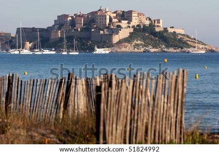 Calvi, Corsica, France - stock photo
