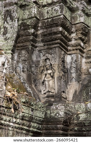 Cambodia, ancient Temple, Angkor Wat